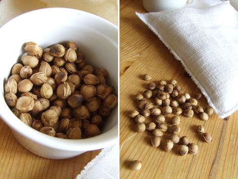 stella di sale | cuscini coi noccioli di ciliegia o coi semi di lino - Cuscino Con Noccioli Di Ciliegia Come Fare