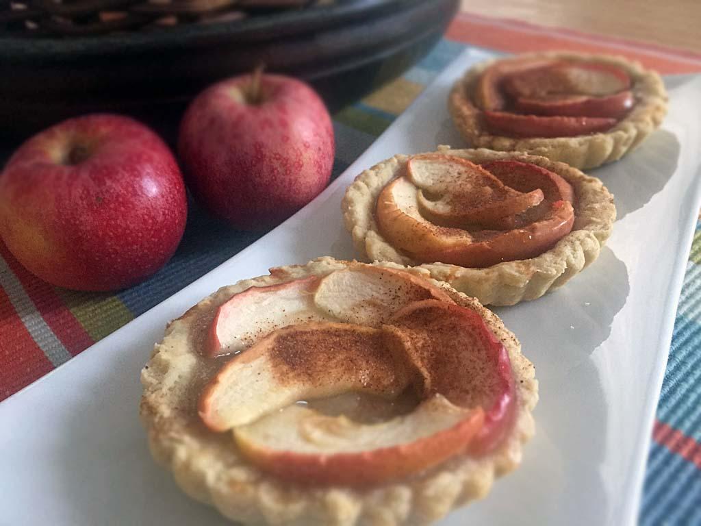 Crostatine di mele senza zucchero